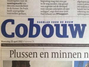 Einderedactie dagblad Cobouw