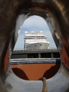 persvaart cruiseschepen