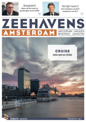 Cover Magazine Zeehavens Amsterdam