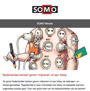 Nieuwsbrief SOMO